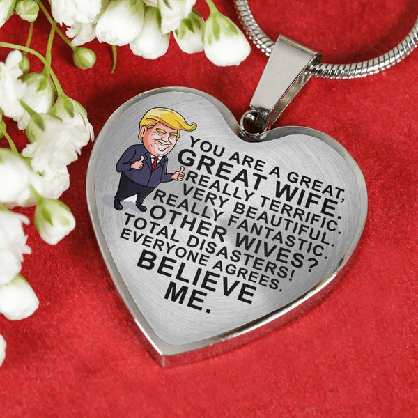 You're A Great Wife - Pendant Necklace - HD07