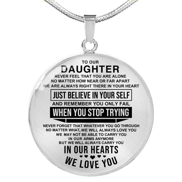 To Our Daughter - Necklace - CD01