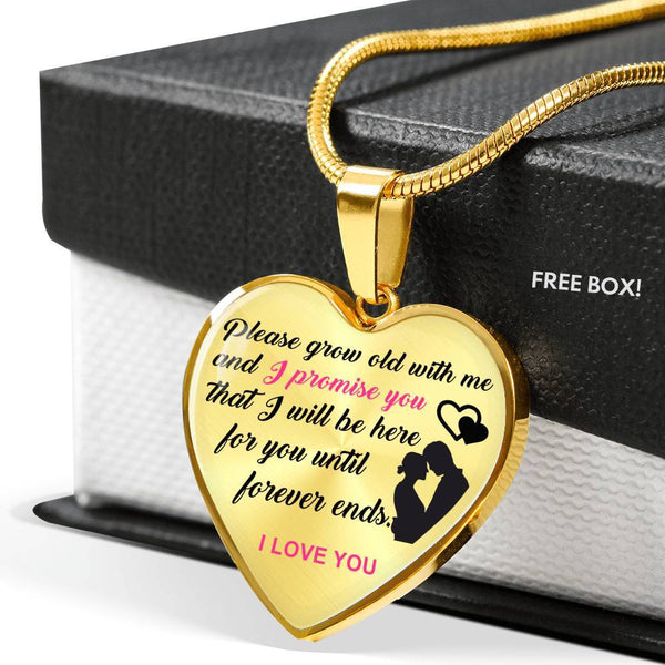 The Promise - 18k Gold Luxury Necklace - HD64