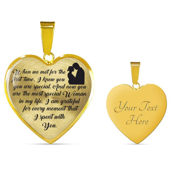 You Are Special - 18k Gold Luxury Necklace - HD66