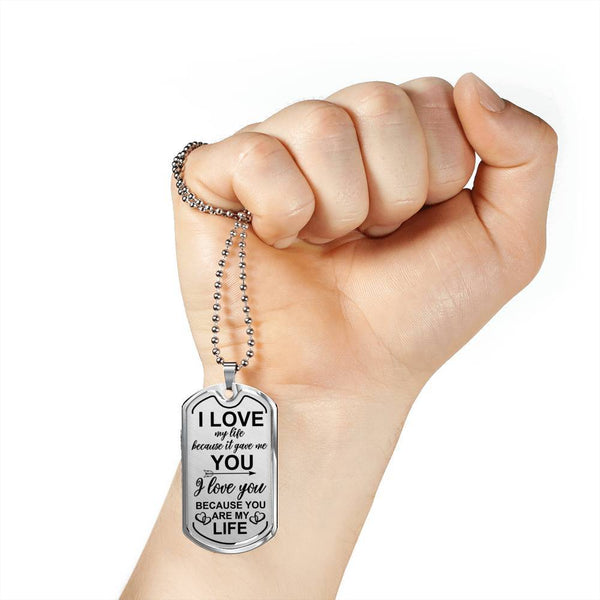 You Are My Life - Keepsake Tag - DT04