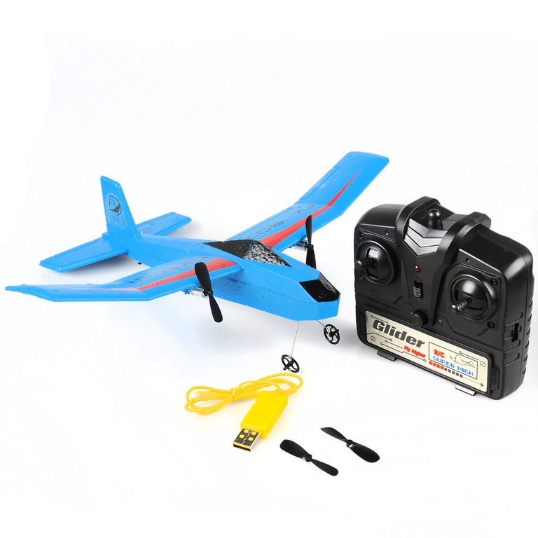 RC FX-807 Fly Bear glider 2.4G 2CH RC Airplane Fixed Wing Plane Outdoor EPP brushless drone mini drones with camera hd wifi dron