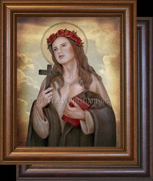 St. Rosalia of Palermo Framed