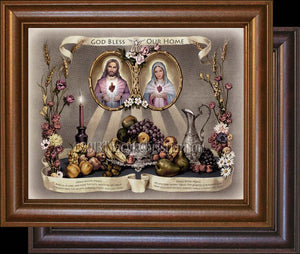 Grace Before & After Meals Framed