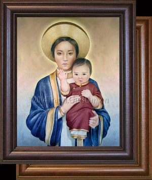 Our Lady of La Vang Framed