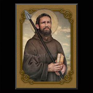 St. Thomas the Apostle Plaque & Holy Card Gift Set