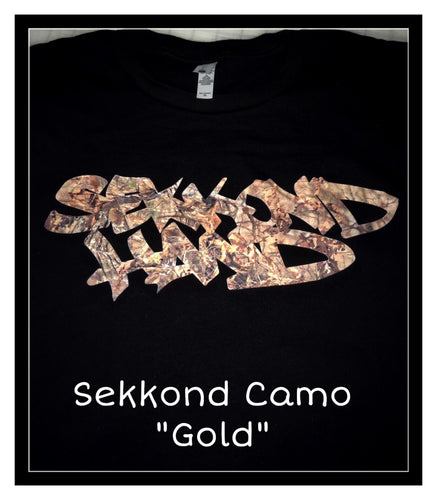 Sekkond Camo Gold - Short Sleeve - Limited Edition