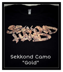 Sekkond Camo Gold - Long Sleeve - Limited Edition