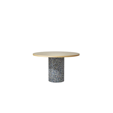Confetti Round Table | 100% Recycled Plastic Indoor/Outdoor Furniture | DesignByThem | GibsonKarlo