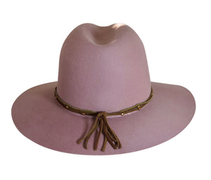 BROOKLYN FEDORA BLUSH PINK