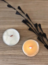Load image into Gallery viewer, FIRESIDE | 100% SOY WOODEN WICK CANDLE