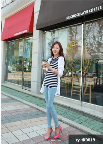 Image of Woman Long sleeve Shirt zy-tK0019