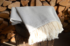 tunisian cotton throw