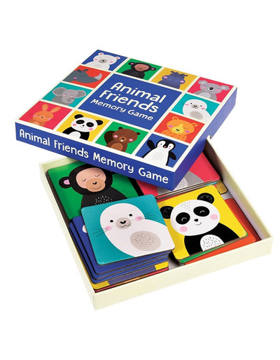 Animal Friends Memory Game