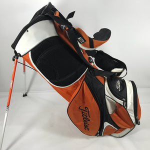 Titleist Grey Black-Orange-White Lightweight Stand Bag