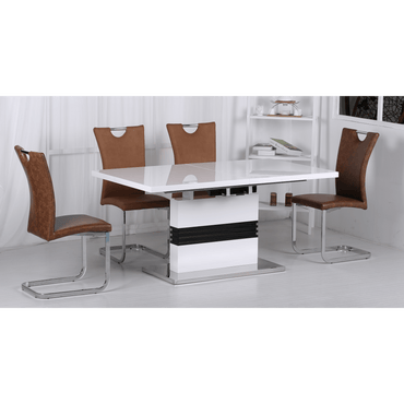 Vienna Dining Set with 6 Chairs