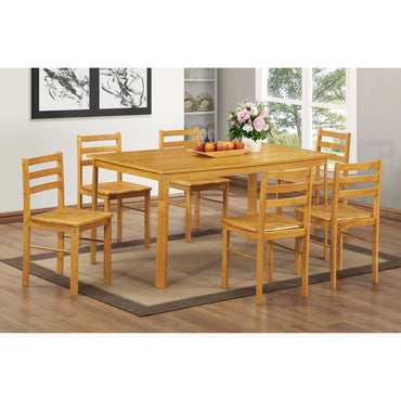 York Large Dining Set with 6 Chairs