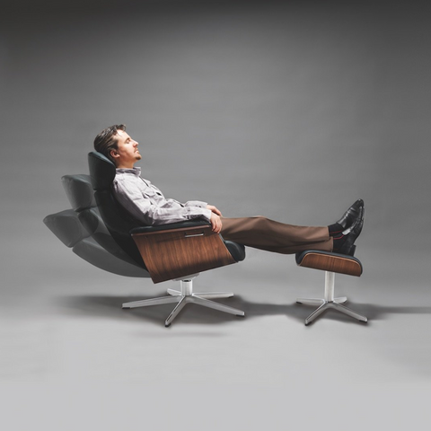 Timeout Chair | Black, Walnut