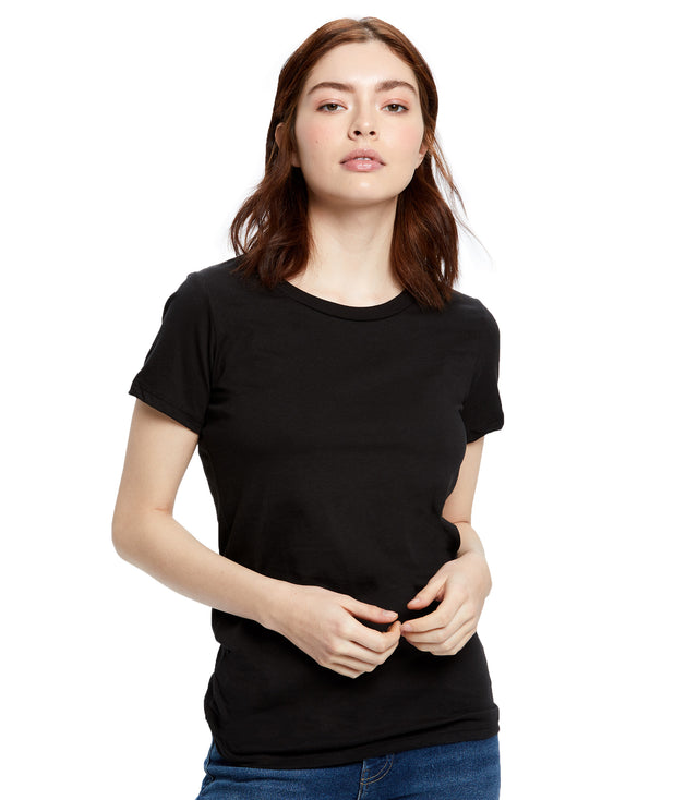 Women's Short Sleeve Organic Crew Neck
