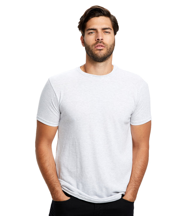 Men's Short Sleeve Tri-blend Crew Neck