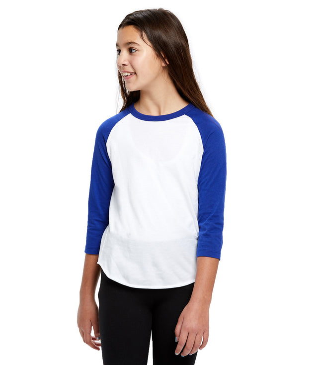 Kid's Cotton Raglan Shirt