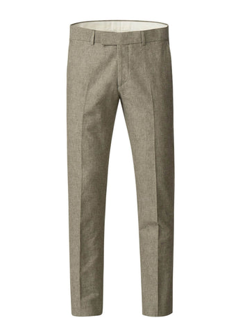 Gibson London Pierre Linnen Pantalon Broek Groen