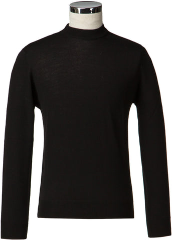 Gibson London Turtle Neck Jumper Zwart