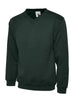 Uneek Children 300GSM V-neck Sweatshirt UC206 bottle green