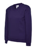 Uneek Children 300GSM V-neck Sweatshirt UC206 purple