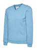 Uneek Children 300GSM V-neck Sweatshirt UC206 sky blue