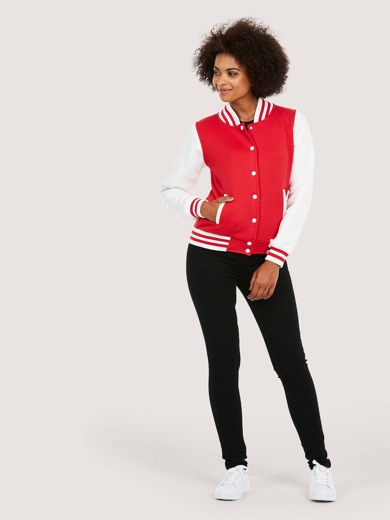 Uneek Ladies 300GSM Varsity Jacket UC526