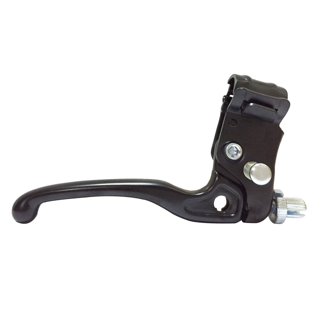 P-BL-07-05 Anodised Black Steel Brake Lever 7mm