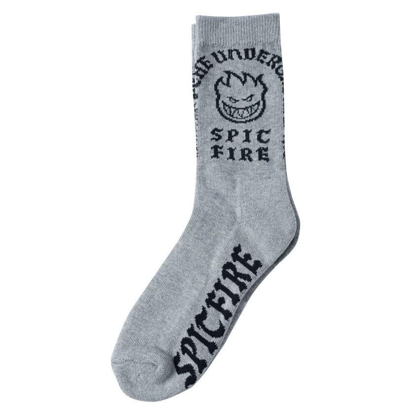 steady rockin sock grey/black
