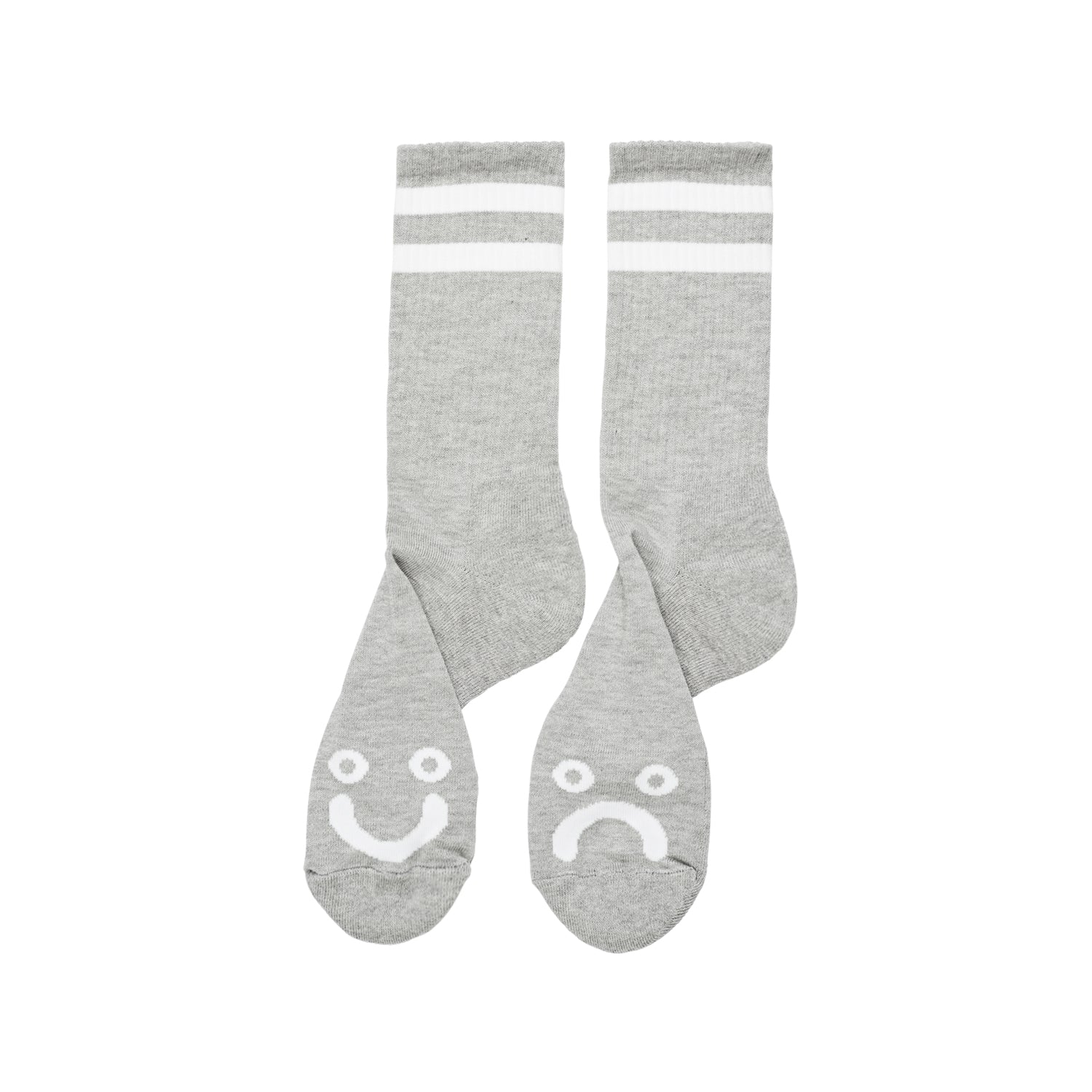 Happy Sad socks Grey