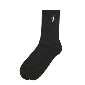 No Comply Socks Black/ White