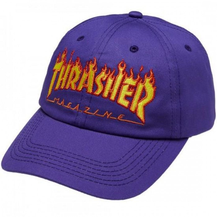 Flame Old Timer Hat Purple