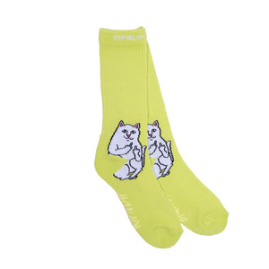 Lord Nermal Socks Safety Green