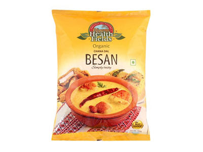 Organic Gram Flour | Chana Besan (Health Fields)