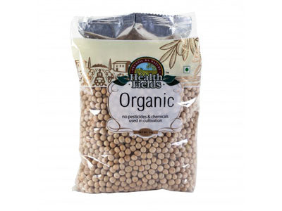 Organic Safed Matar / White Peas (Health Fields)