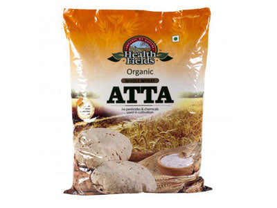 Organic Wheat Flour Atta (Health Fields)