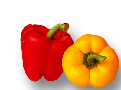 Organic Red-Yellow Capsicum