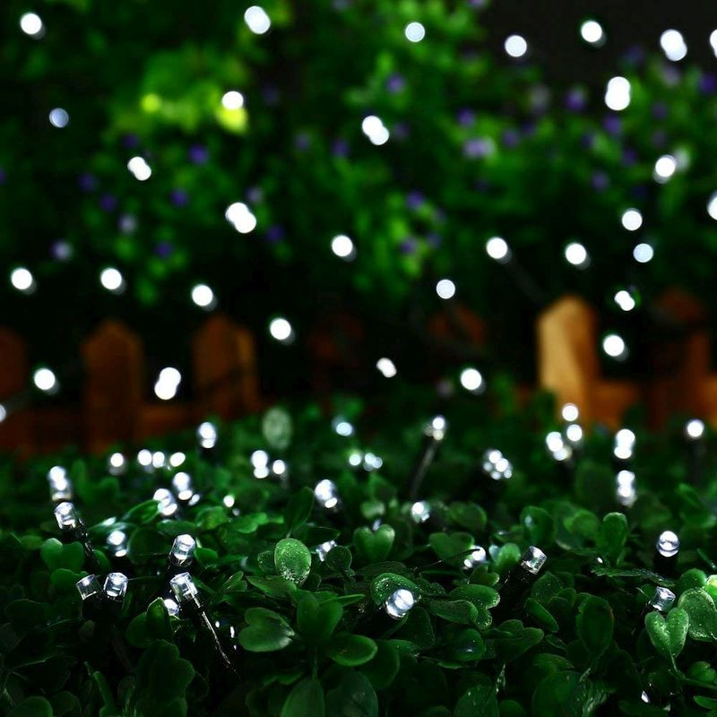 200 LEDs Solar String Lights, Cool White, Warm White, 72ft, 8 Modes, Outdoors use, Gardening use, Upgraded Solar Panel, Free Shipping - ForeverPhotons
