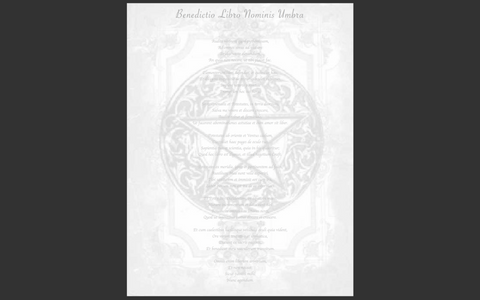 Wiccan Book Blessing and Charging Spell Page and Ritual