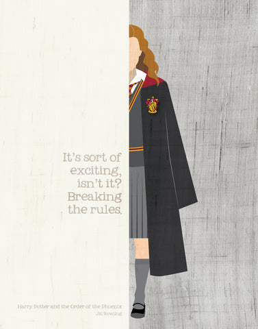 Hermione Granger Quote  / JK Rowling