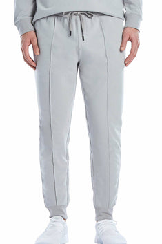 2(X)IST Cement-Grey Modern Classic Lounge Pant