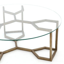 Naomi Glass Coffee Table