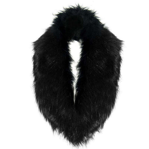 Rich Fantasy Scarf | Adult Faux Fur Collar Scarf