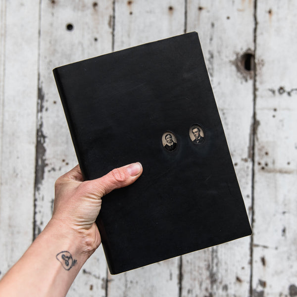 No. 46, Hannah + Augustus: Companion Hand-Bound Tin Type Journal