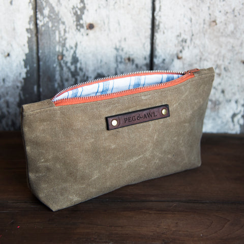 Autumn Pouch in Blue