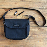 All Black Finch Satchel